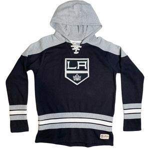 Los Angeles Kings NHL Youth Hoodie Black Gray XL